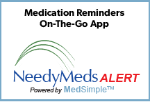 NeedyMeds ALERT - Medication Reminders On-The-Go