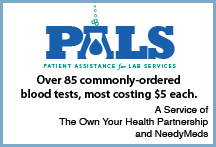 Patient Assistance for Lab Services blood test discounts