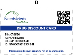 NeedyMeds Card D