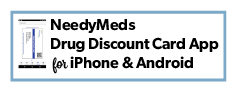 NeedyMeds Drug Discount Card App for Smartphone